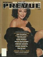 Mediascene Prevue Movie Magazine Prevue January 1983 Joan Collins Dynasty