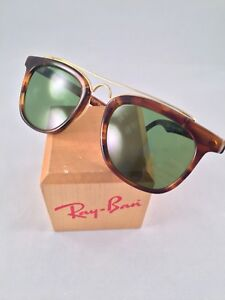 Vintage Ray Ban Bausch And Lomb Brown Tortoise Gatsby Style 5 W0937 Sunglasses