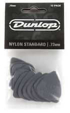 Jim Dunlop 44P.73 Nylon Standard Guitar Pick - .73 12 Player Pack