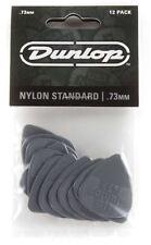 Jim Dunlop 44P.73 Nylon Standard Guitar Pick - .73 12 Player Pack
