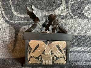 Northwest Coast Native Art (Haida) Argillite Box
