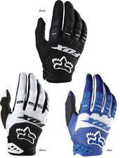 Fox Head Men's Dirtpaw Race Gloves MTB MTX Black White Blue NEW AUTHENTIC USA