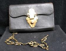 Porte-feuille de maquignon ( fin XIX ) avec sa chaîne
