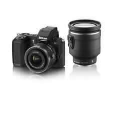 USED Nikon 1 V2 with 10-30mm VR and 10-100mm PD Black Excellent FREE SHIPPING