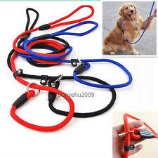 Collar Nylon Ajustable Leash correa Cuerda De Tracción para perro mascotas
