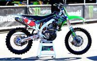 Monster Energy Kawasaki Kxf 450 2012-2015 Gráfico Kit Ama Motocross Supercross
