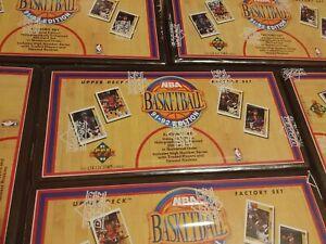 1991-92 Upper Deck NBA Basketball 500 Card Factory Sealed Box Set Michael Jordan