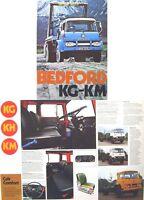 Bedford KG KH KM Trucks 1972-73 Original UK Sales Brochure Pub. No. B1479