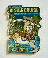 "2020 Disney Parks exclusive Jungle Cruise Pin"" Having Pun In The Jungle"" Rare"