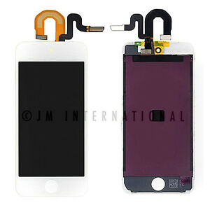 White iPod 5th Gen LCD & Touch Screen Assembly Frame Digitizer Replacement Part