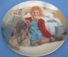 """Edwin Knowles Plate """"Annie and Sandy"""",  *   8 1/2"""", Limited Edition - 1983"""