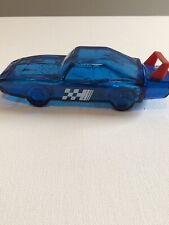 Avon Wild Country After Shave Blue Glass Car