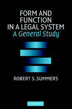 Form and Function in a Legal System: A General Study-ExLibrary