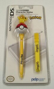 New Nintendo DS Pokemon Pikachu Collector's Edition Stylus with Strap NIP