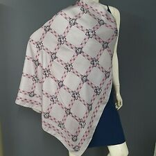 Burberry London  Scarf Silk Light Purple and Pink