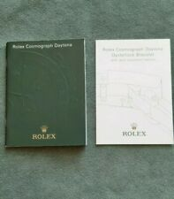BOOKLET ROLEX COSMOGRAPH DAYTONA ANNO 2006 ENG