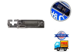 License Plate Light Lens Back Up Camera Mount VOLKSWAGEN VW CC EOS GTI R32 PASSA