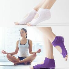 Yoga Socks Anti Slip Exercise Massage Sock Toe Separator Alignment Protector Kit