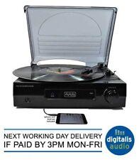 Steepletone digitale ST918 3 Speed Record Player integrato Amplificatore e Altoparlanti NUOVO