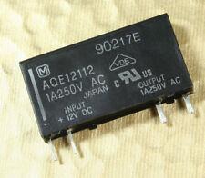 1pc AQE12112 Panasonic NAIS SSR Relay 12VDC (control),  250VAC 1A, SPST, (ST)