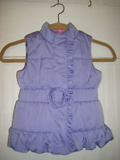 Lilly Pulitzer Girl's Small (4-5) Lilac Puffer Vest