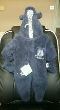 BNWT Disney Baby Boys NEWBORN Warm Snowsuit Wintersuit Full bodySuit mittens