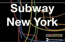 New York City Subway Station Metal Strassenschild Street Sign, 43cm