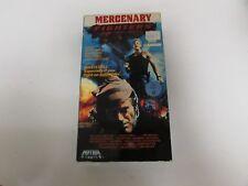 VHS Tape Mercenary Fighters 1988 Video Treasures