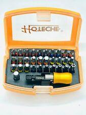 Inserti per avvitatore in kit da 32 pezzi completo di adattatore magnetico