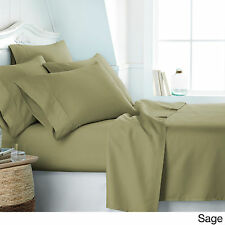 6 PIECE 2100 COUNT DEEP POCKET BAMBOO SERIES BED SUPER SOFT SHEET SET MOST SIZES