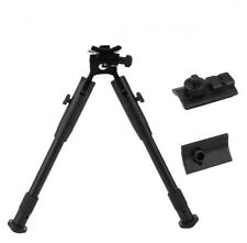 Hunting Rifle Bipod Adjustable Mount Stand Dual Height 223 Rail Accessories