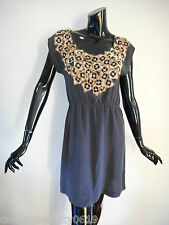Gorman Size10 Silk Dress Embroidered with Beads