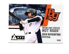 Zach Rutherford Bowling Green Hot Rods 2018 team set card Old Dominion