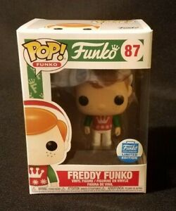 NEW Funko POP! FREDDY FUNKO Christmas Sweater 2020 Limited Edition EXCLUSIVE!