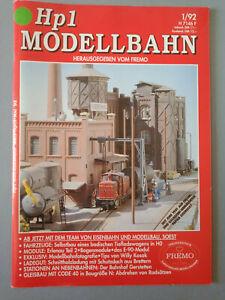 Hp1 Modellbahn  Hp 1 Januar 1992    01/1992