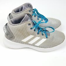 new style c53bd a6c50 Adidas Neo Kids Sz 5 Youth Grade School Cloudfoam Refresh Mid Shoes MSRP  80