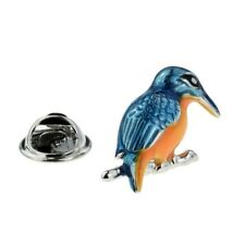 Coloured Kingfisher Lapel Pin Badge X2AJTP873