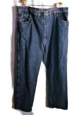 "Wrangler Men's Denim Jeans: ""46X34"" Actual 44/30 Medium Wash Five Pocket Pants"