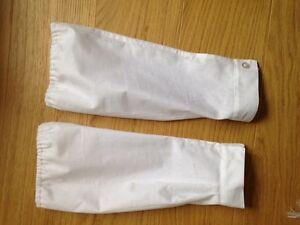 VAD Sleeve Protectors Handmade WWI WW1 history dress up midwife uniform