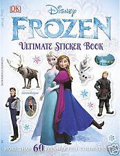 """FROZEN"" ULTIMATE STICKER BOOK ~DISNEY STORE~  FREE SHIPPING"