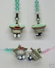 Hello Kitty Cosplay Building CellPhone Charm Strap