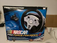 Thrustmaster Nascar Pro Force Feedback 2 Video Game Racing Wheel * Tested *