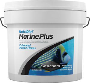 Seachem NutriDiet Marine Plus Flakes 500g Supports Fish Immune System Vitamins