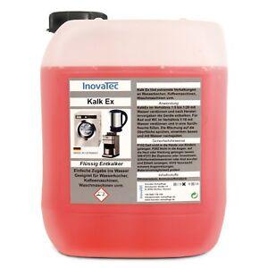 5l Kalklöser flüssig Entkalker mit Zitronensäure Schnellentkalker Anti Kalk