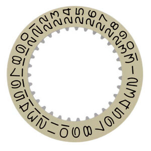 DATE DISC FOR ROOLEX 1530-1570 MOVEMENT CHAMPAGNE YELLOW WATCH PART