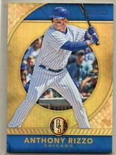 ANTHONY RIZZO Cubs 2017 Panini Chronicles Gold Standard #9 Base Card /269 SP