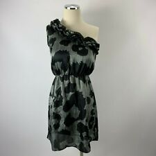 Everly Small Dress One Shoulder Gray Black Nordstrom