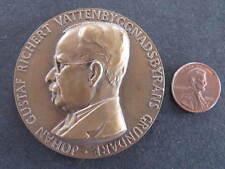 1927 Johann Gustaff Richert Medal Medallion