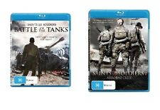 Saints & And Soldiers Blu-ray Bundle 2 FILMS [Region B] Tanks Airborne Creed