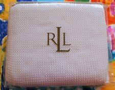 NEW NIP Ralph Lauren Isle of Capri White Knitted Standard Pillow Sham